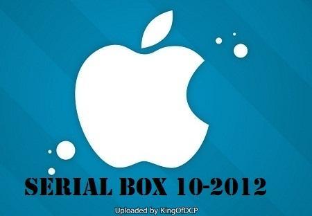 Serial Box 10-2012 Mac OSX