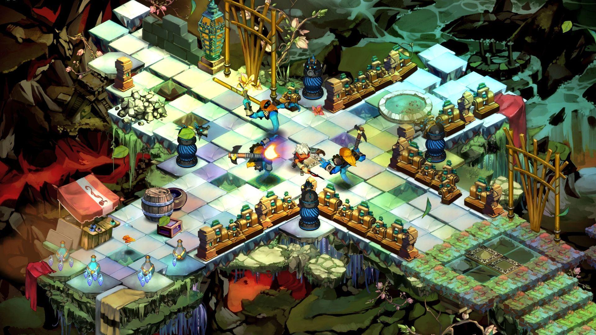 حصريا اللعبة الرائعة والخفيفة المنتظرة Bastion 2011 بكراك
