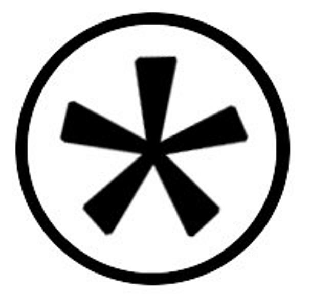 cirkelasterisk