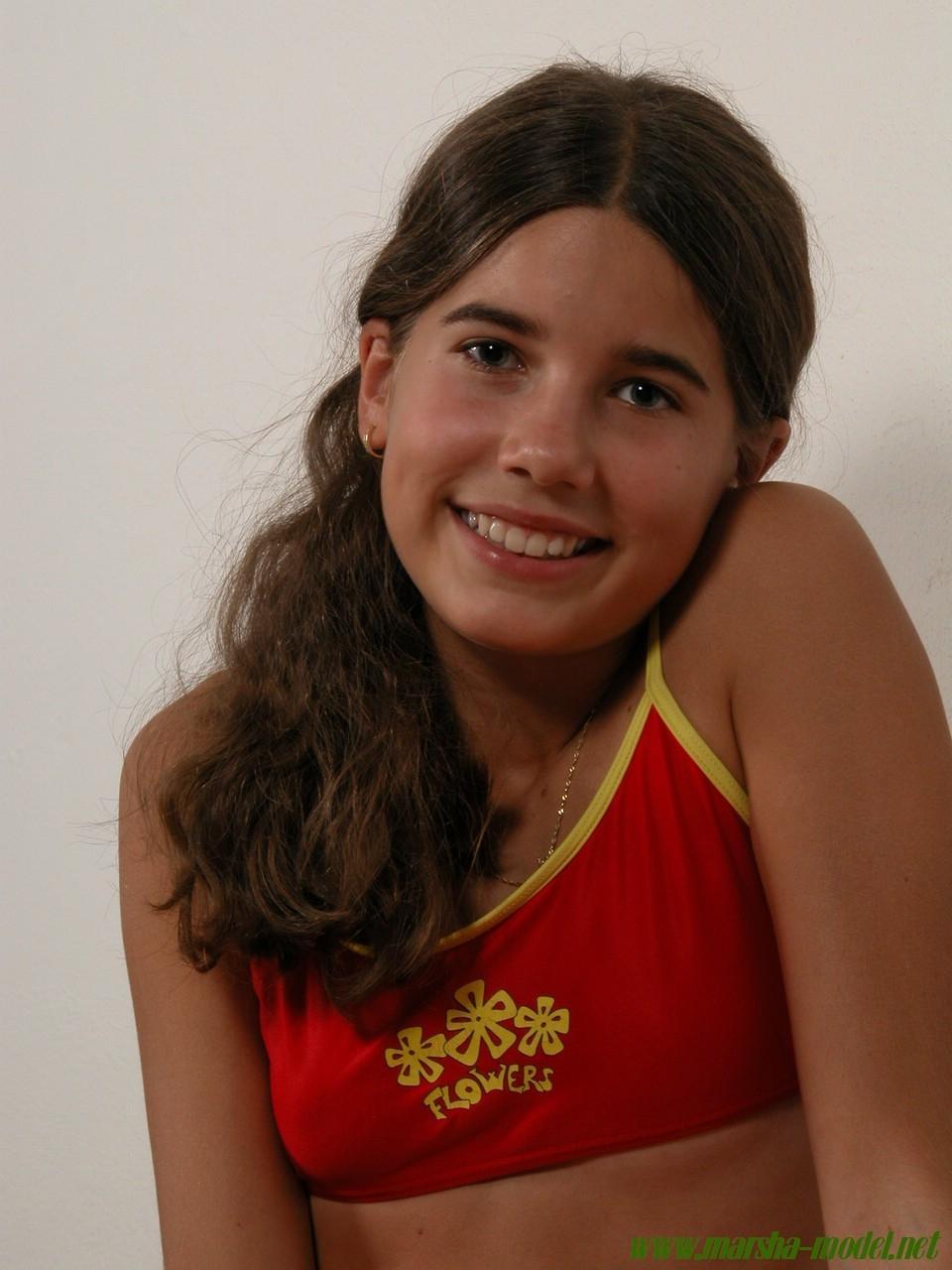 Petite Sandra Teen Model