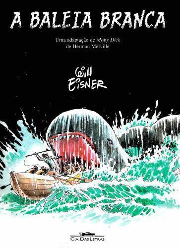 Capa de A Baleia Branca de Will Eisner