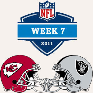 NFL Week7 10-23-2011 Kansas City Chiefs at Oakland Raiders picture