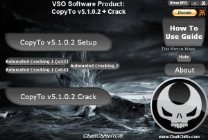 CopyTo v5.1.0.2 + Crack. exe File Format (Setup File - Crack - Instructions
