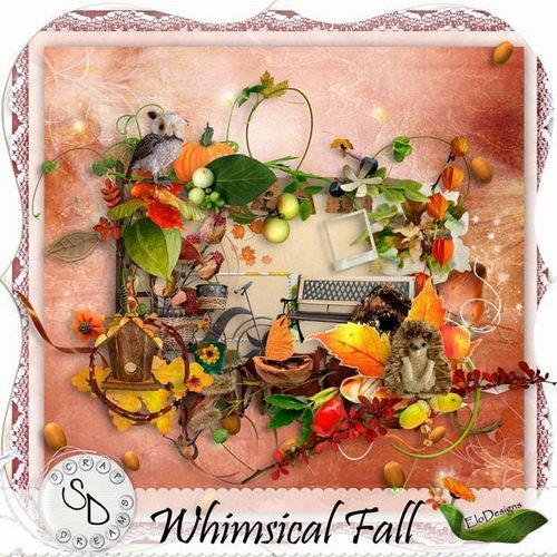 Скрап-набор - Причудливая осень