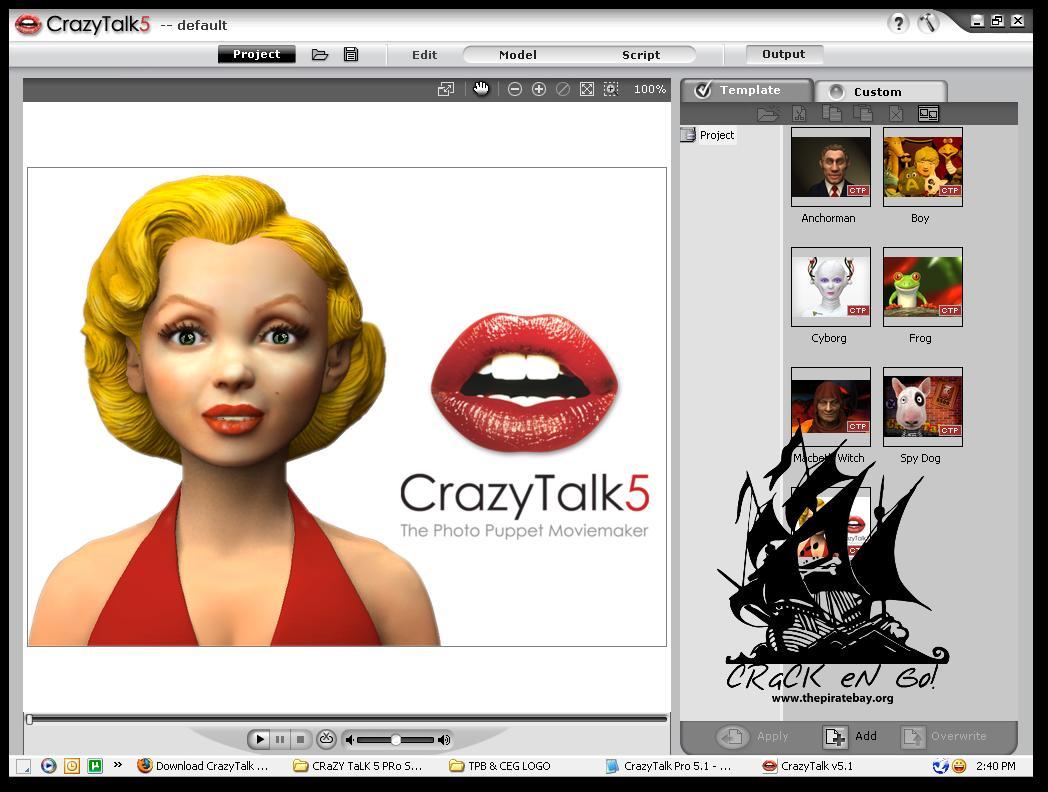 CrazyTalk v5.0 PRO RETAIL.