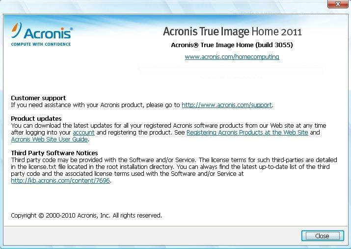 أقوى Acronis True Image Home