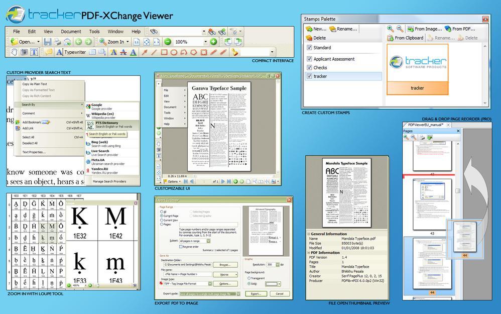 PDF-XChange Viewer Pro 2 053 Portable preview 1